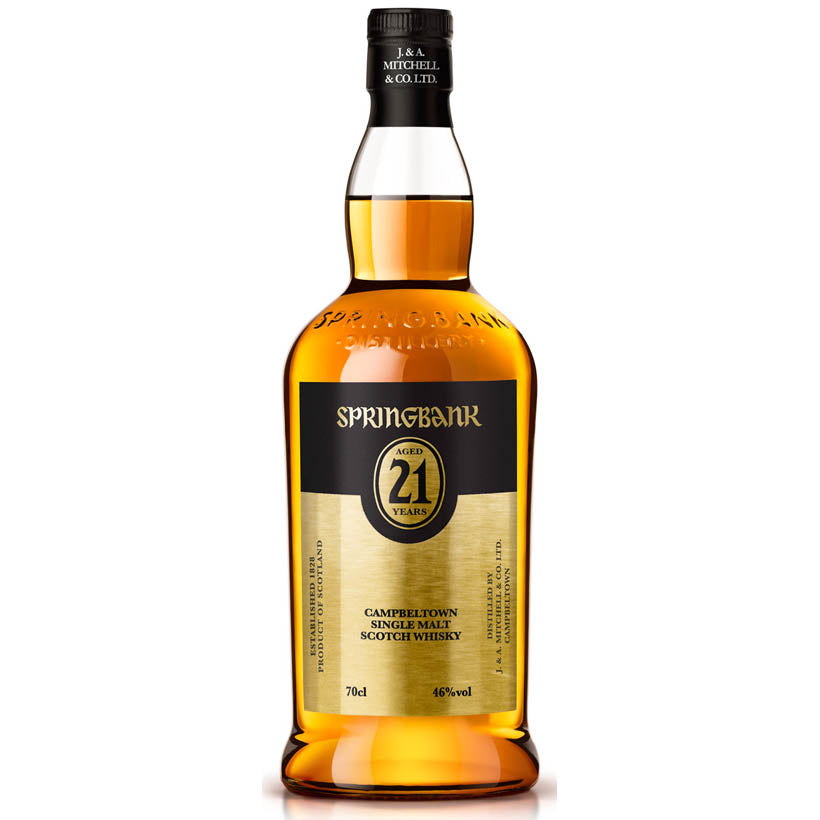 Springbank 21 Year Old - Campbeltown Luxury Whisky