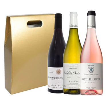 A Taste of France, 3 bottle wine gift set