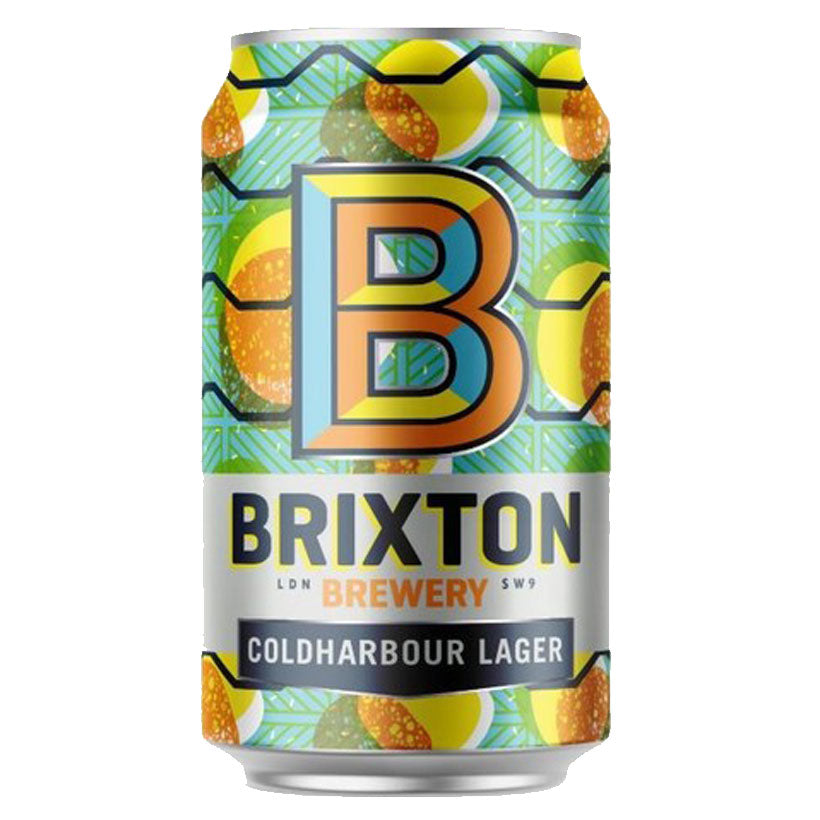 Craft beer, Brixton Brewery Coldharbour Lager 330ml Can