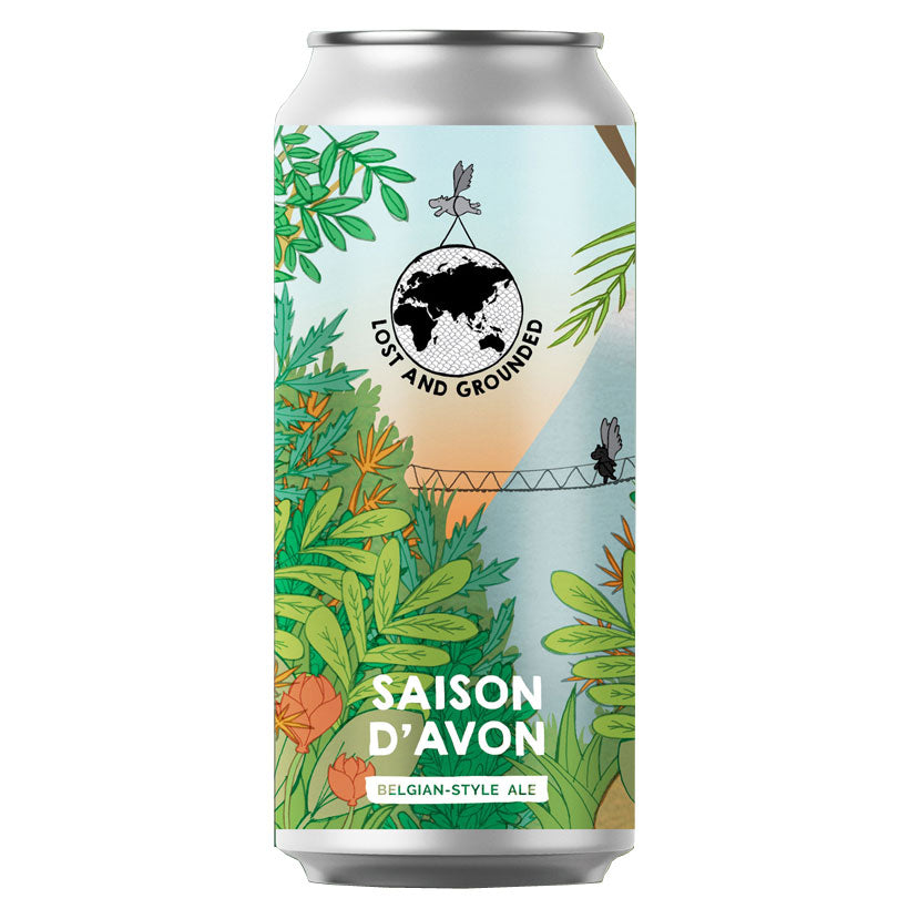 Lost & Grounded Saison D'Avon Belgian-Style Ale