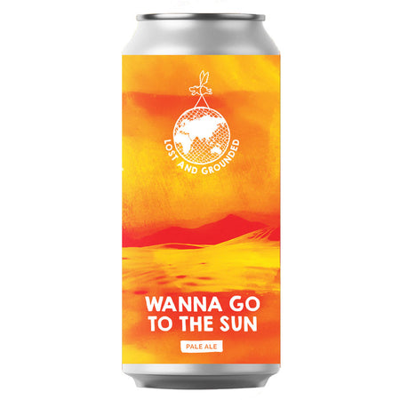 Craft Beer, Lost & Grounded Wanna Go To The Sun Pale Ale 440ml Can
