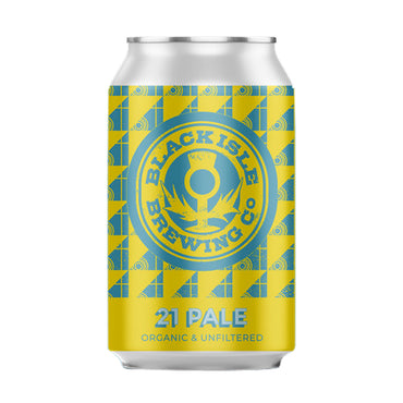 Craft Beer, Black Isle Brewery 21 Pale Ale 330ml Can
