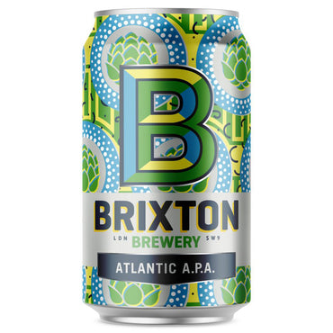 Craft Beer Brixton Brewery Atlantic APA 330ml Can