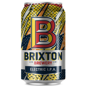 Craft Beer Brixton Brewery Electric IPA 330ml Can