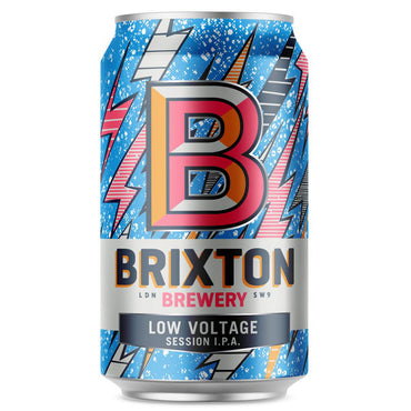 Craft Beer Brixton Brewery Low Voltage Session IPA 330ml Can