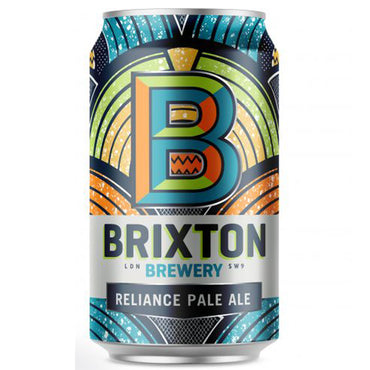 Craft Beer Brixton Brewery Reliance Pale Ale 330ml Can