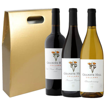Californian Wine Gift Set, Red and White Wine
