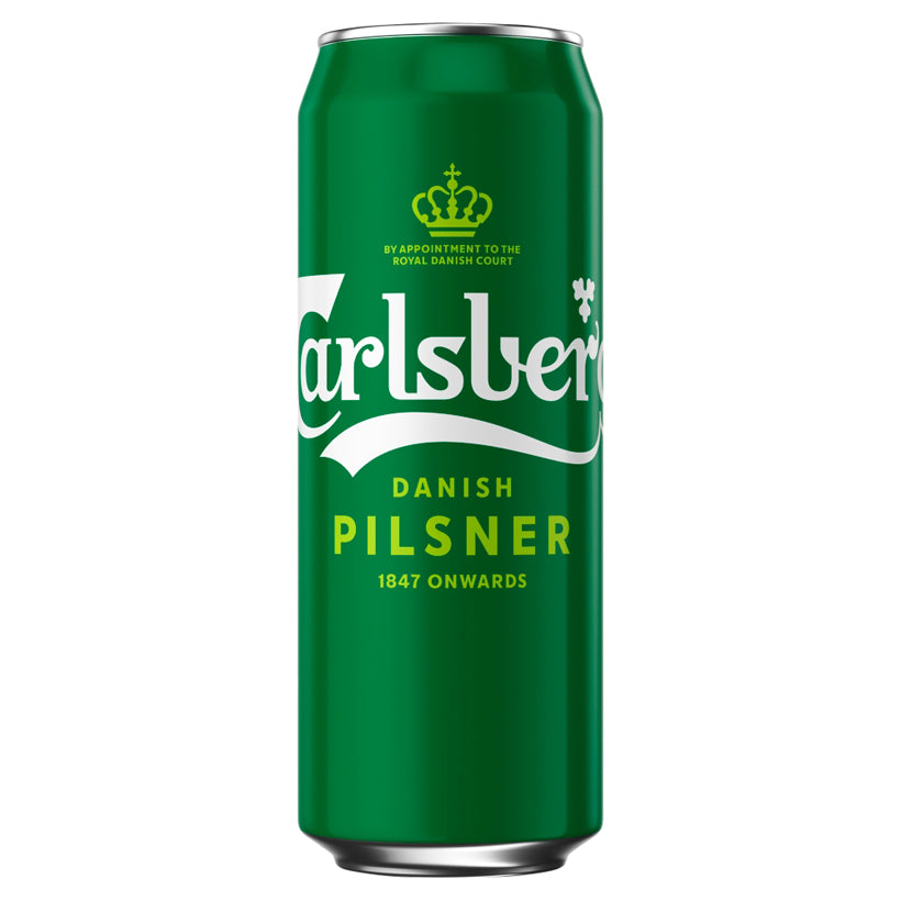 Beer Carlsberg Danish Pilsner Lager 500ml Can