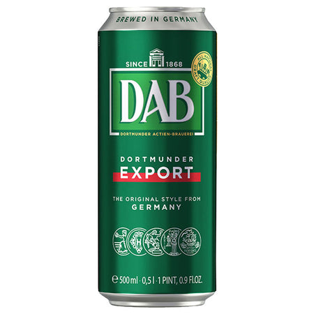 DAB Dortmunder Export Lager 500ml Can