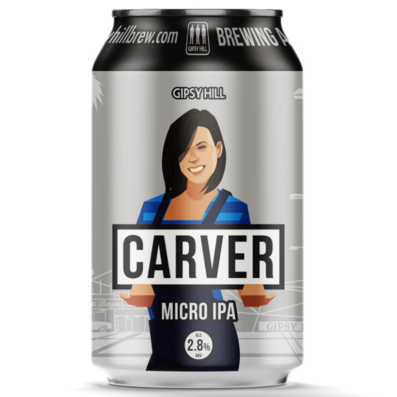 Craft Beer Gipsy Hill Carver Micro IPA 330ml Can