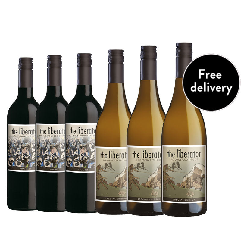 Liberate Your Senses - Mixed Case of 6 Wines