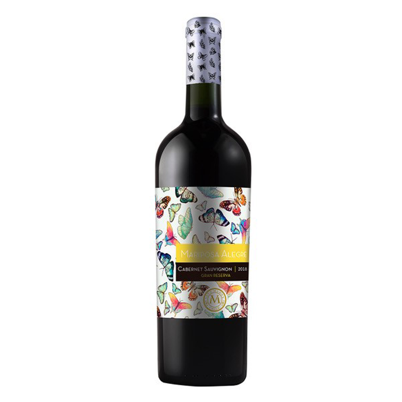Mariposa Alegre Viña Marty 2018 Chilean Red wine