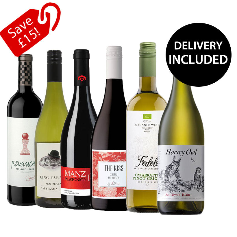 Netflix and Chile - Mixed Case of 6 Wines