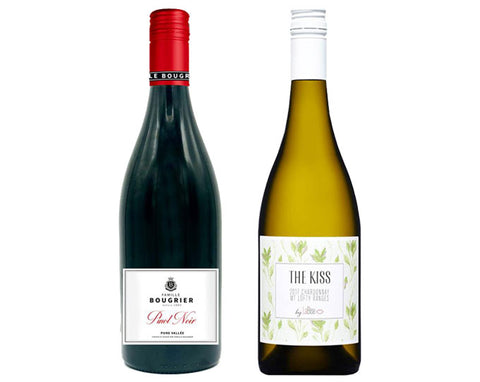 South Australian White Wine and French Red Wine
