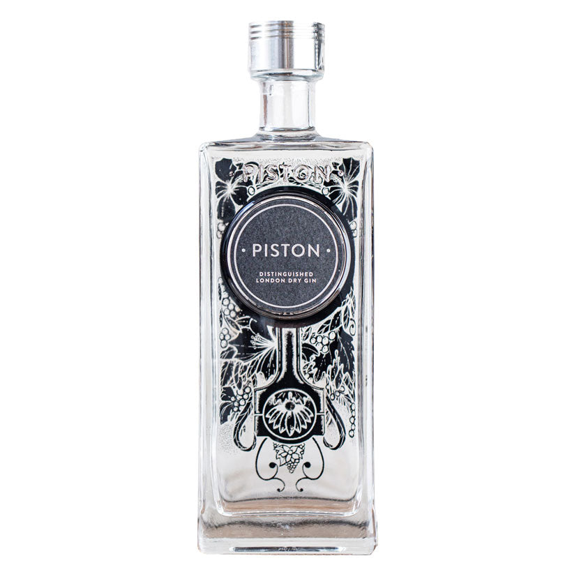 Piston Distinguised London Dry Gin 700ml Bottle