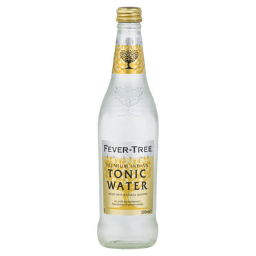 Fever-Tree Premium Indian Tonic Water 500ml Glass Bottle