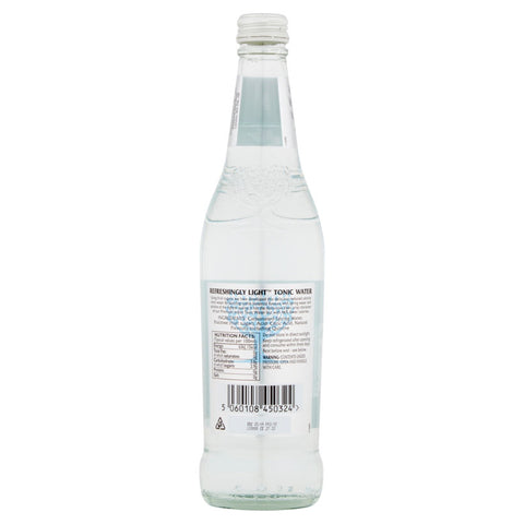 Fever-Tree Refreshingly Light Indian Tonic Water 500ml Back Label