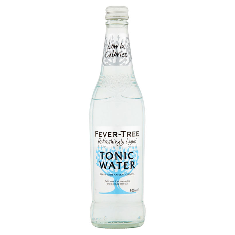 Fever-Tree Refreshingly Light Indian Tonic Water 500ml Glass Bottle