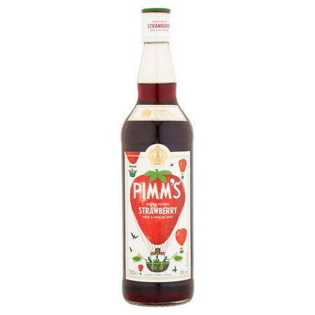 Pimm's Strawberry With a Hint of Mint