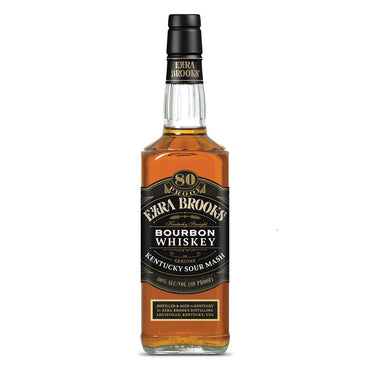 Ezra Brooks Bourbon Whiskey 700ml