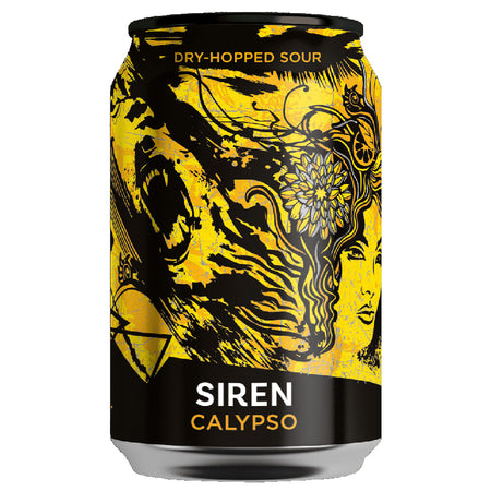 Craft Beer Siren Calypso Dry-Hopped Sour 330ml Can
