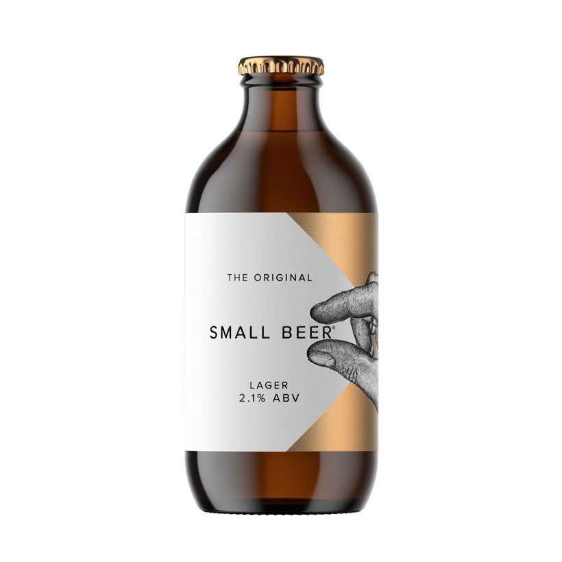Craft Beer, The Original Small Beer Lager 2.1%
