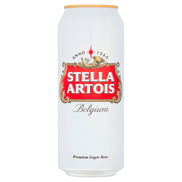 Beer Stella Artois Lager 500ml x 24 Cans