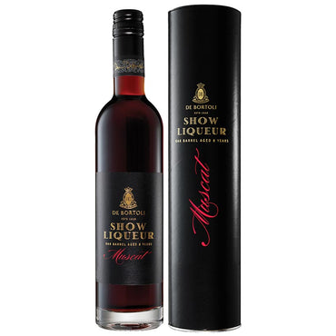 De Bortoli Show Liqueur Muscat with Presentation Tube, Fortified Wine