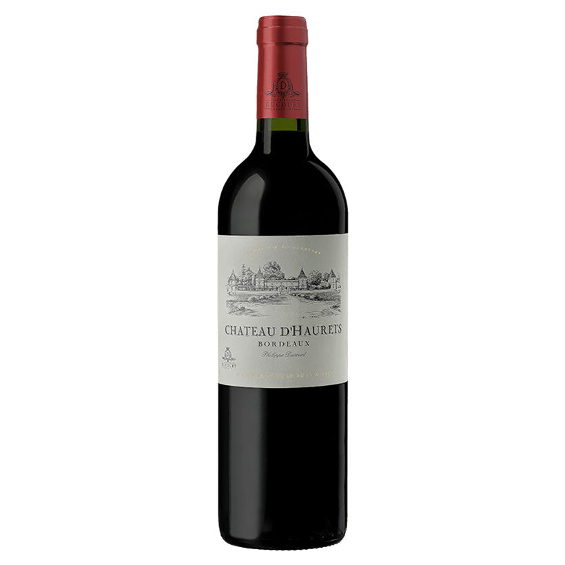 Red Wine, Chateau d'Haurets Bordeaux Rouge 2016