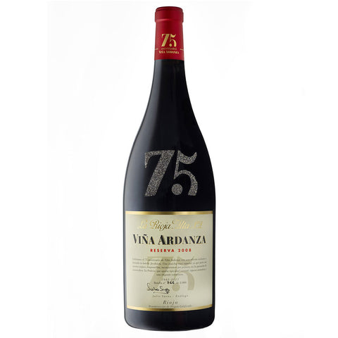 Vina Ardanza 2008 Jeroboam - 75th Anniversary Collector's Edition, with Swarovsky Crystal design