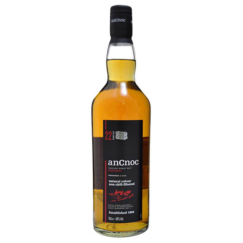 AnCnoc 22 Year Old - Highland Single Malt Whisky