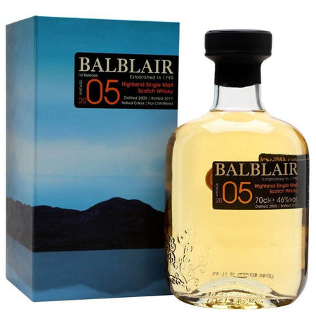 Balblair 2005 - Highland Single Malt Whisky with box