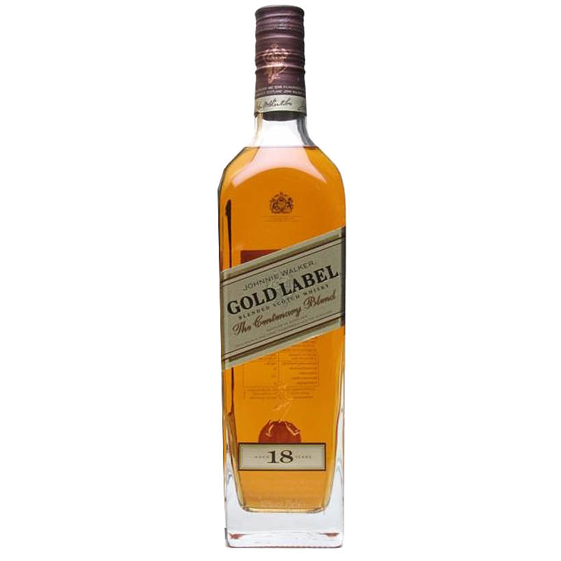Johnnie Walker 'Gold Label - The Centenary Blend' 18 Year Old - Premium Blended Scotch Whisky