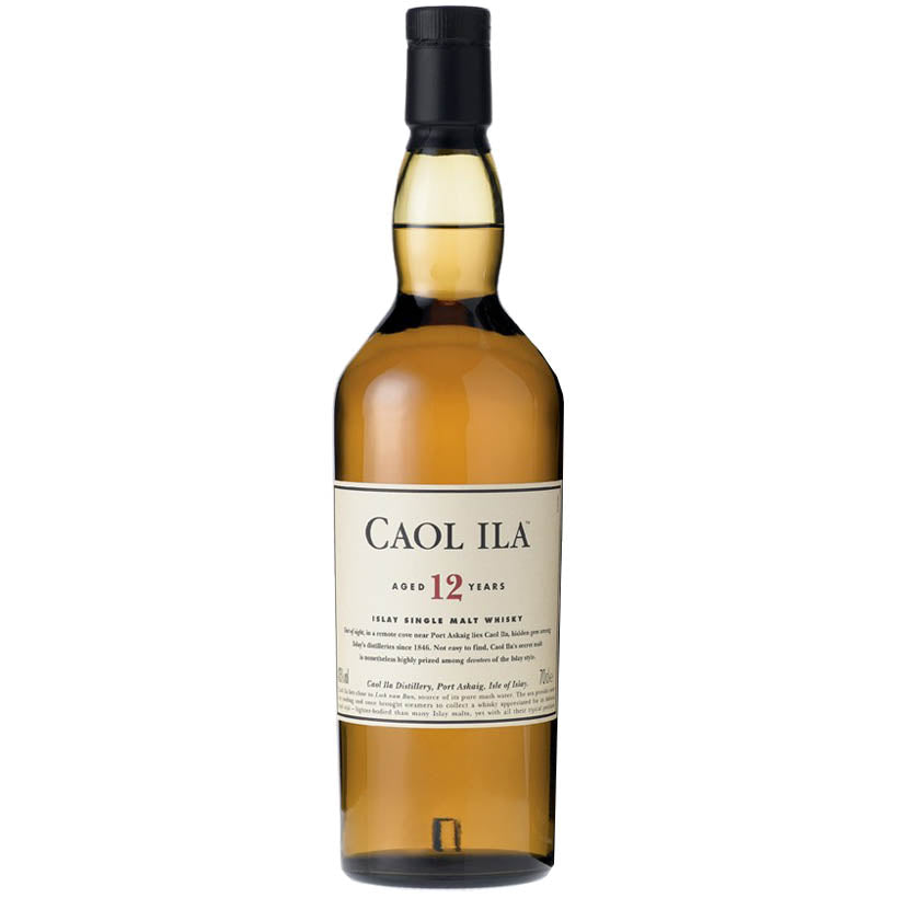 Caol Ila 12 Year Old - Islay Whisky 700ml