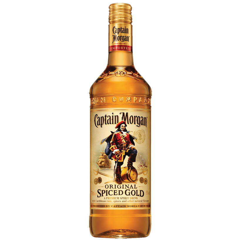 Captain Morgan's Spiced Gold Rum
