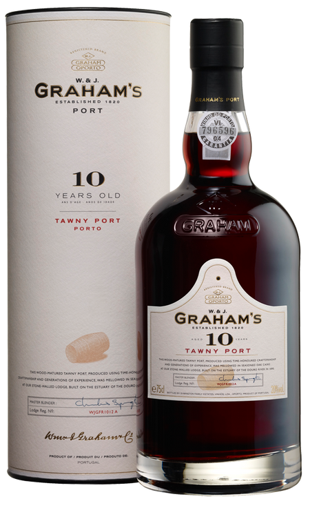 Grahams 10 Year Old Tawny Port with Box