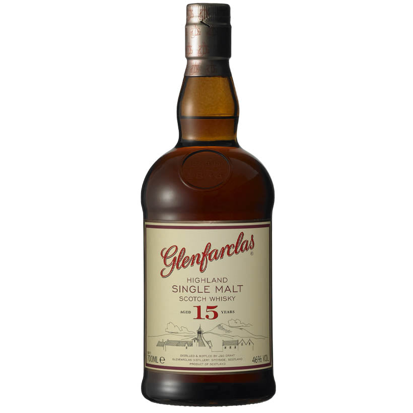 Glenfarclas 15 Year Old Single Malt Whisky 700ml