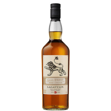 Lagavulin 9 Year Old - Game of Thrones House Lannister Whisky