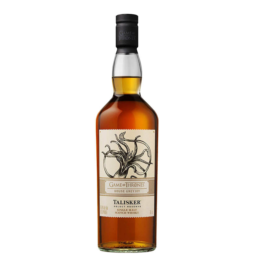 Talisker Select Reserve - Game of Thrones House Greyjoy whisky