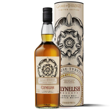 Whisky Clynelish Reserve - Game of Thrones House Tyrell with box
