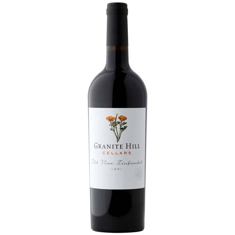 Granite Hill Old Vine Zinfandel 2017 American Vegan Red wine