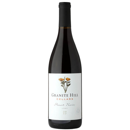 Granite Hill Pinot Noir 2017 Vegan American Red wine