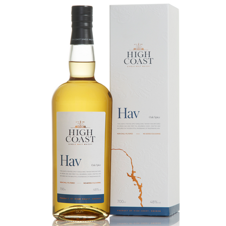 High Coast Hav - Single Malt Swedish Whisky with box