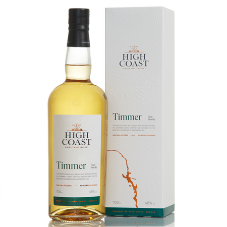 High Coast Timmer - Single Malt Whisky with box