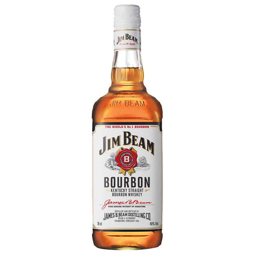 Jim Beam 'White Label' - Kentucky Straight Bourbon Whiskey