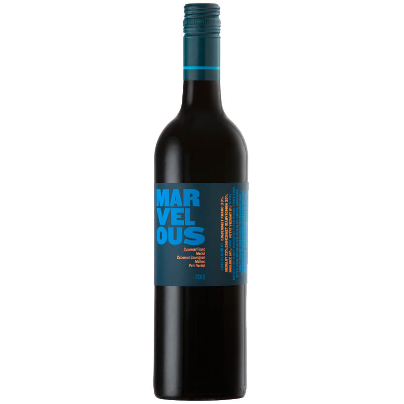 Marvelous Blue 2015 South African Vegetarian Red wine
