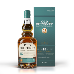 Old Pulteney 15 Year Old Single Malt Whisky With Box