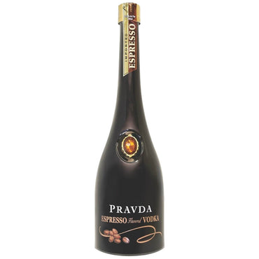 Pravda Espresso Vodka intense coffee flavours