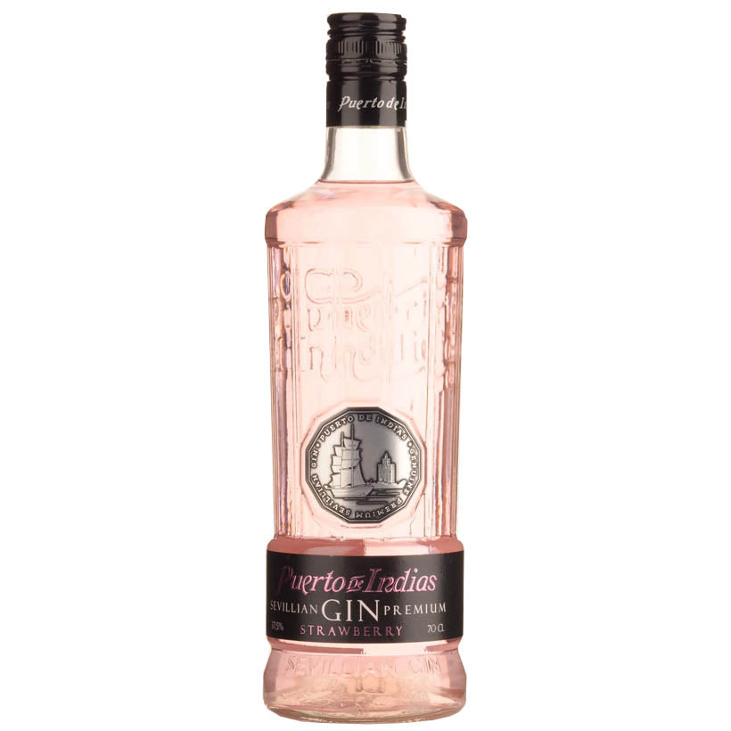 Puerto de Indias Strawberry Gin flavoured