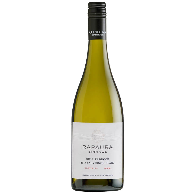 Rapaura Springs Bull Paddock Sauvignon Blanc 2017 New Zealand White Wine